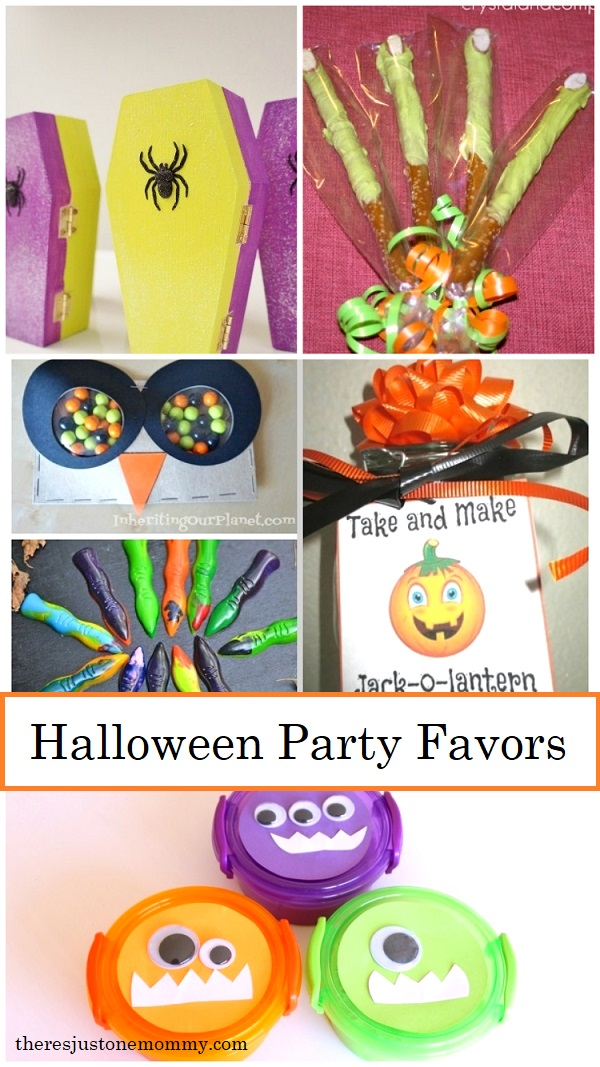 DIY Halloween party favors for kids Halloween party