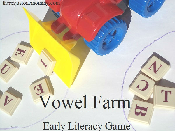 easy game to identify vowels