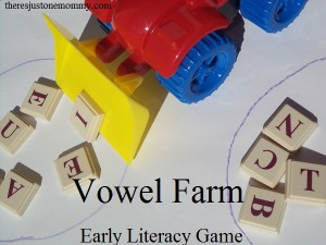 identifying vowels game