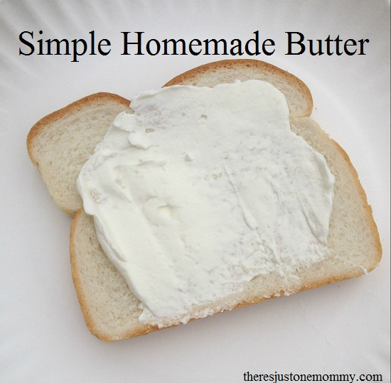 How to make homemade butter