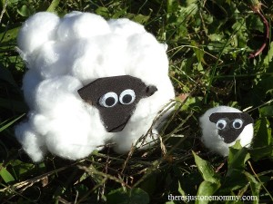 easy sheep craft