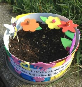 mini garden activity