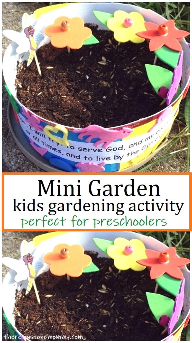 gardening activity for preschoolers