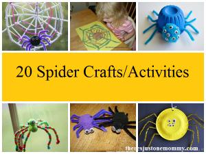 20 spider crafts and spider web crafts