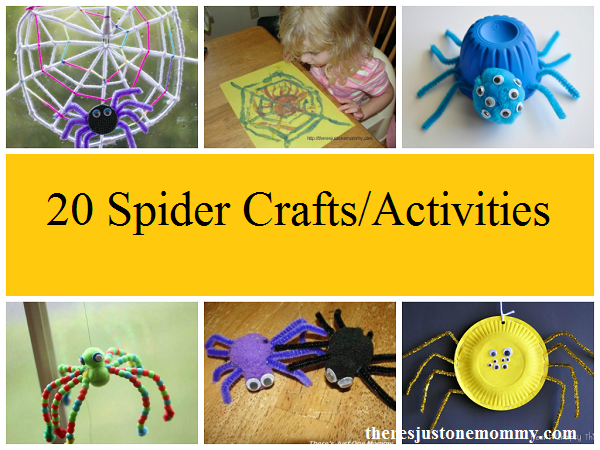 20 spider crafts and spider web crafts