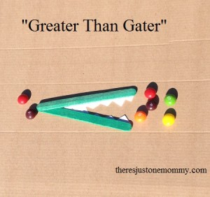 """Greater Than"" Gater -- hands on tool to help compare numbers"