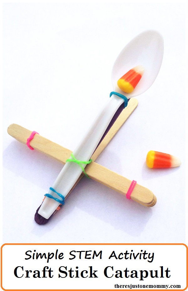 How to make a Craft Stick Catapult: a simple and fun STEM activity for kids