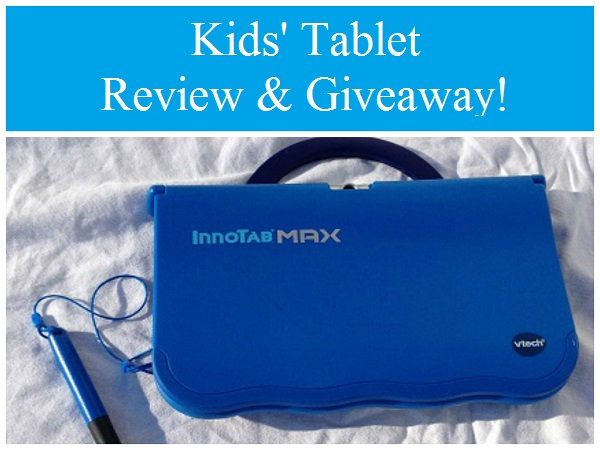 VTech InnoTab Max review and giveaway