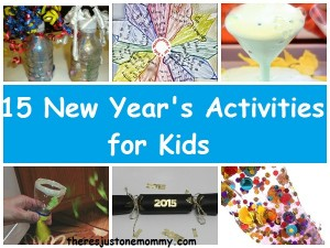 Kids New Year's activities