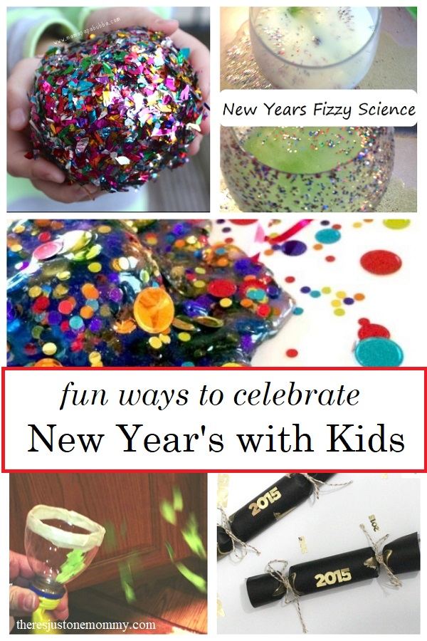 fun ways to celebrate New Year's with kids