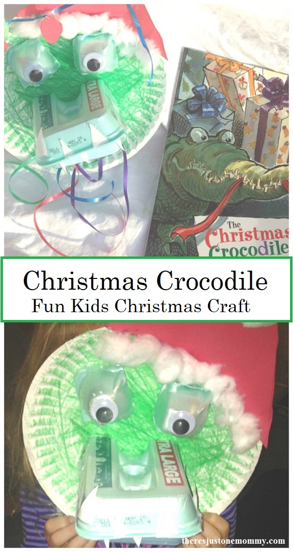 fun Christmas Crocodile craft