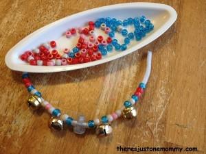 jingle bell bracelet craft