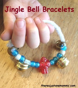 jingle bell bracelet craft