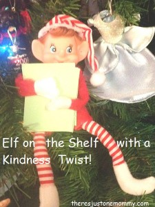 Teaching Kindness with Elf on the Shelf