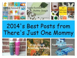 2014's best kids activities posts of There's Just One Mommy