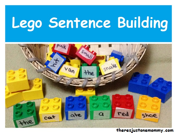 Learning with Legos: teach sentence structure and parts of speech using Lego Duplo blocks