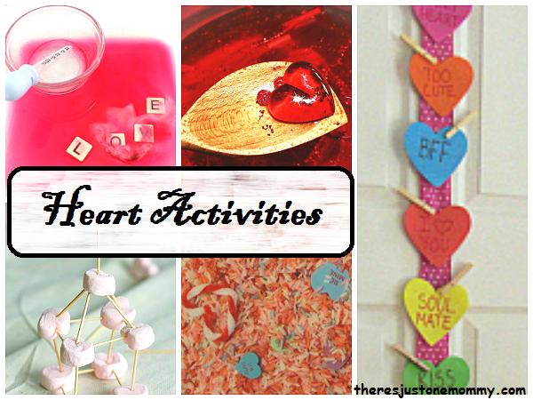 kids heart activities