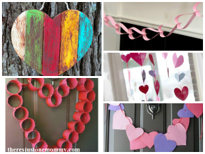 heart crafts perfect for decorating