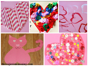 fun heart crafts for kids