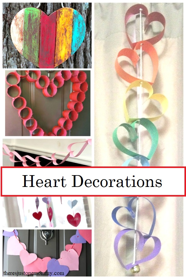 homemade heart decorations kids can make