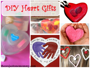 DIY heart-themed gifts