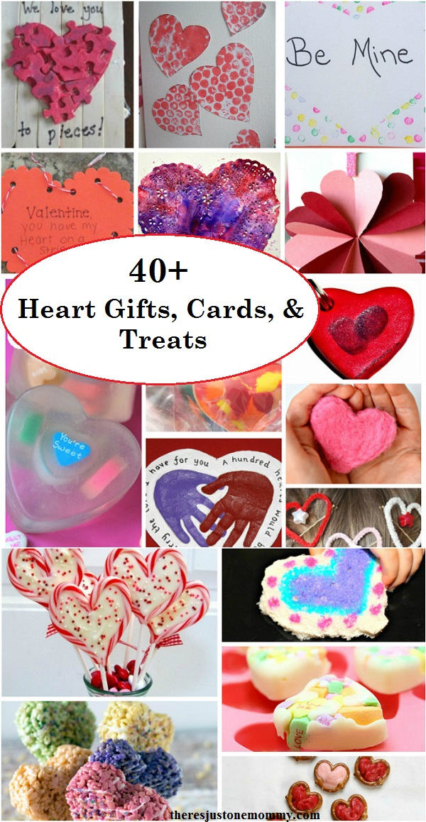 Heart gifts, Heart treats, and heart cards: over 40 DIY Valentine's Day gifts, treats, and homemade Valentines