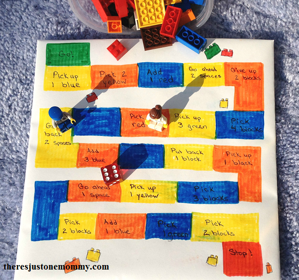 DIY Lego board game