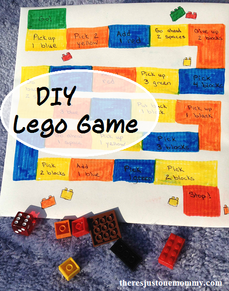 DIY Lego-inspired board game