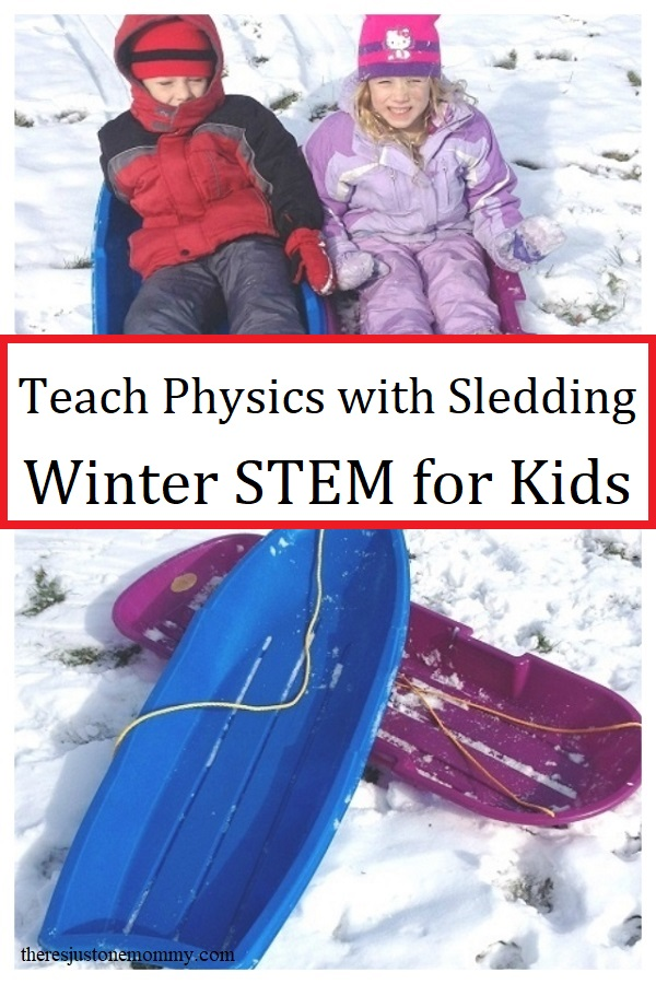 teach kids about physics with this winter science activity
