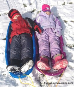 science of sledding -- what makes the sled go further?