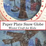simple snow globe craft for kids