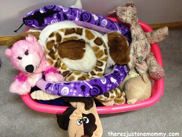 stuffed animal toy storage solution