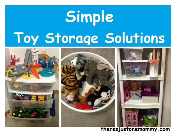 simple ideas for toy organization