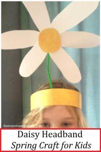 Daisy headband craft for Daisy Head Mayzie