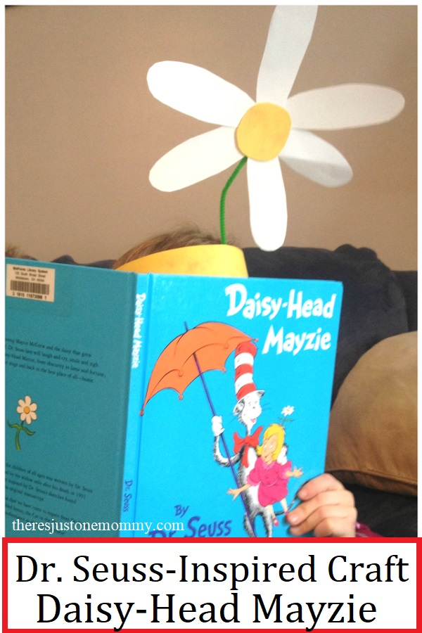 Dr. Seuss's Daisy Head Mayzie craft