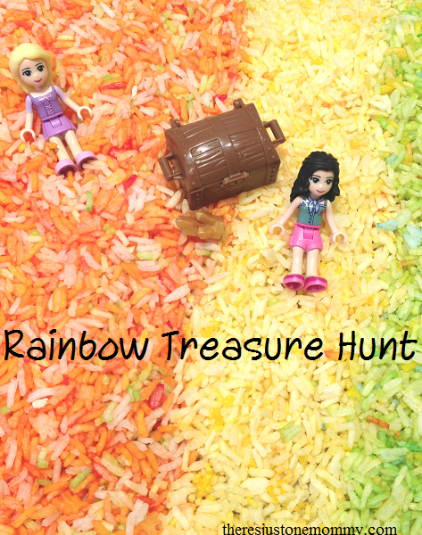 Rainbow Treasure Hunt -- great for St. Patrick's Day or any day!