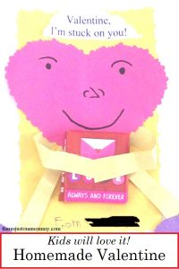 homemade Valentine's Day cards kids can make