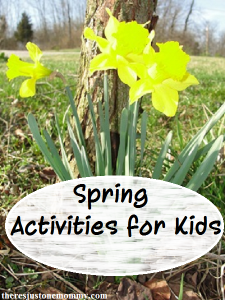 list of free spring break activities for kids