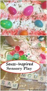 Dr. Seuss-Inspired Sensory Play