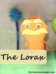 The Lorax Craft:  Great for Earth Day!