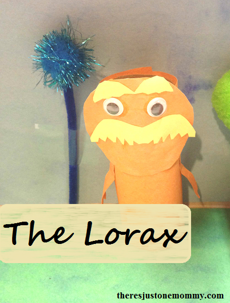 craft for The Lorax -- great for Earth Day!