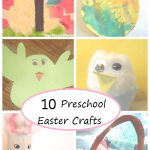 10 Easter Crafts for Preschoolers