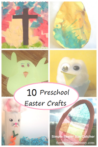 10 simple preschooler Easter crafts