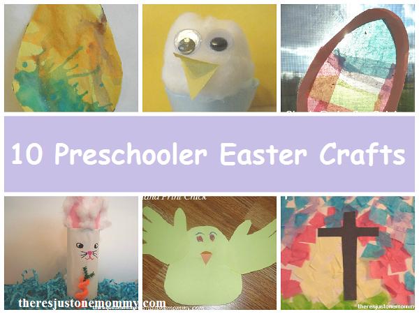 10 Easter crafts for preschoolers