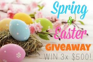 spring giveaway and 40 egg carton crafts