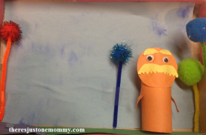 simple and fun craft for The Lorax