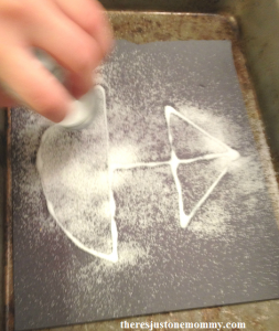 how to do salt painting
