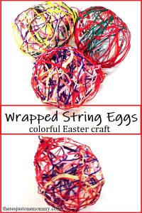 how to make string eggs