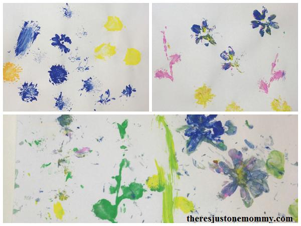 flower painting craft