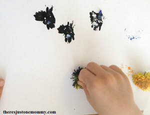 flower painting craft